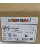 Ferraz-Shawmut/Mersen Sicherung NH000GG50V80 Y216543 500V 80A (9Stk.) OVP