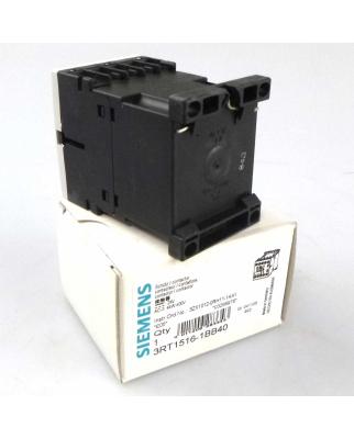 Siemens Schütz 3RT1516-1BB40 24V OVP