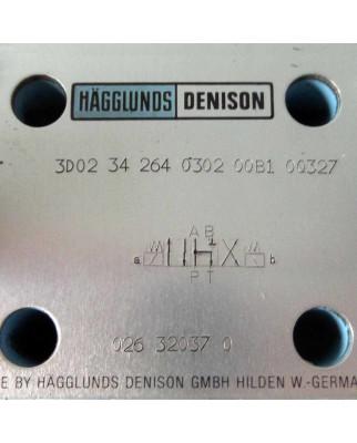 Hägglunds Denison Magnetventil 3D02 34 264 0302 00B1 0Q327 GEB