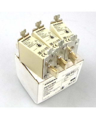 Siemens Sitor Sicherungseinsatz 3NA3 805 (3Stk.) OVP
