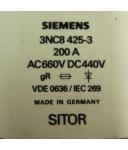 Siemens Sitor Sicherungseinsatz 3NC8 425-3 NOV
