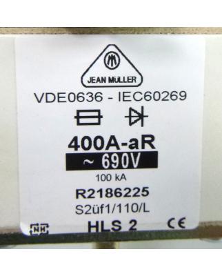 Jean Müller NH-Sicherungseinsatz R2186225 400A 690V NOV