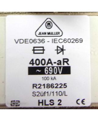 Jean Müller NH-Sicherungseinsatz R2186225 400A 690V OVP