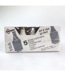 Weber Sicherungseinsätze DT II 16A gG 500V (25Stk.) OVP