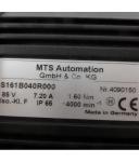 MTS Servomotor S161B040R000 4000min-1 85V GEB