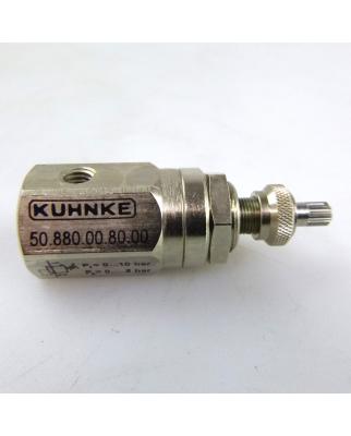 Kuhnke Druckregler 50.880.00.80.00 OVP