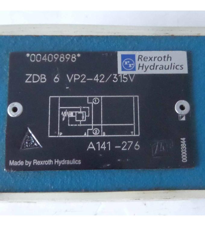 Rexroth Druckbegrenzungsventil ZDB 6 VP2-42/315V GEB