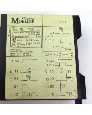 Klöckner Moeller Zeitrelais TE 12-1 0,05-1s GEB