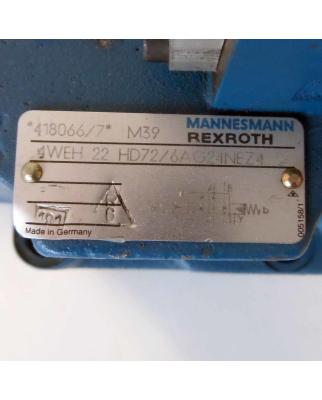 MANNESMANN REXROTH Steuerblock 4WEH 22 HD72/6AG24NEZ4 GEB