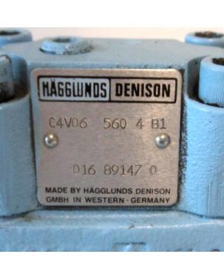 Hägglunds Denison Hydraulikblock, Hydraulikventil, C4V06 560 4 B1 GEB