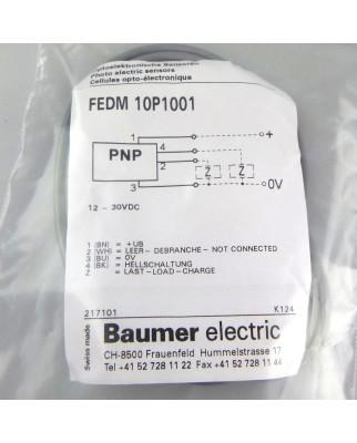 Baumer electric Sensor Optoelektronisch FEDM 10P1001 OVP