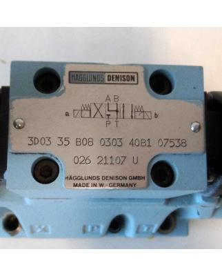 Hägglunds Denison Ventilblock 3D03-35-B08-030-40B1-07538 GEB