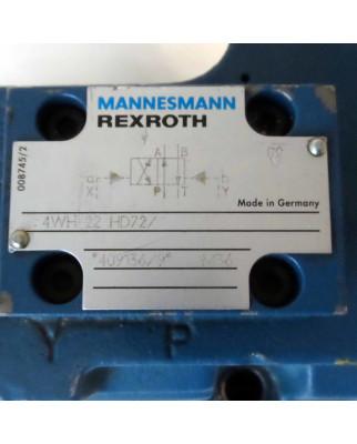 MANNESMANN REXROTH Steuerblock 4WH 22 HD72/ GEB