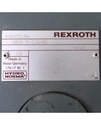 Rexroth Hydronorma Druckbegrenzungsventil DBDS 20 G16/400 NOV
