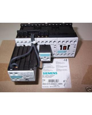 Siemens Schützkombination 3RA1415-8XB31-1BB4 5,5kw OVP