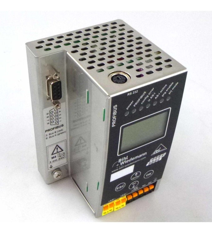 Bihl+Wiedemann AS-i 3.0 PROFIBUS Gateway BWU1886 GEB