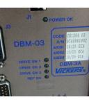Vickers Servo-Drive DBM-03 DBM-3A CG130403 #K2 GEB
