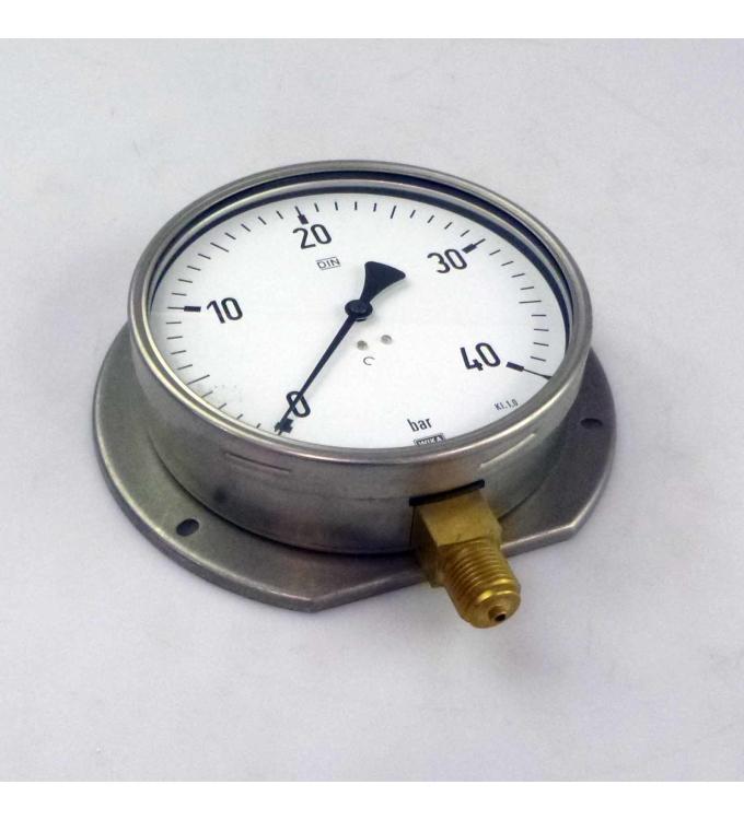WIKA Manometer, Druckanzeige 0-40 bar NOV