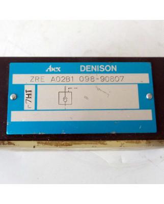 Denison Rückschlagventil ZRE A02B1 098 90807 NOV