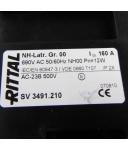RITTAL NH-Lasttrenner Gr.00 SV 3491.210 OVP