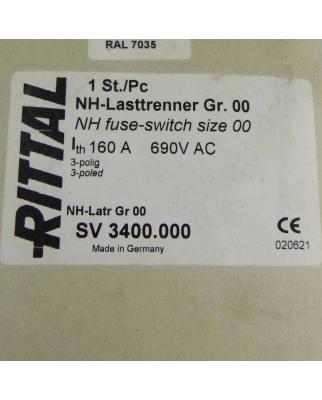 RITTAL NH-Lasttrenner Gr.00 SV 3400.000 OVP
