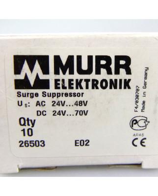 Murr elektronik Schaltgerätentstörmodul 26503 (10Stk.) OVP