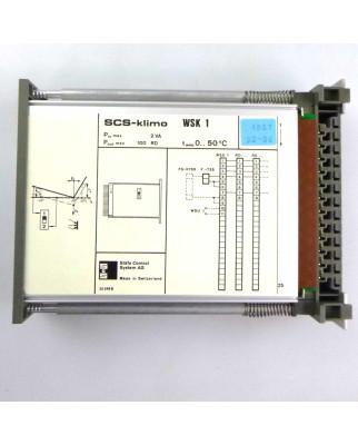 Staefa Control System SCS-klimo WSK1 OVP