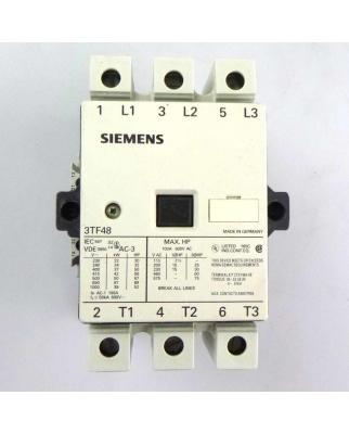 Siemens Schütz 3TF4822-0AP0 220/230V 50Hz GEB