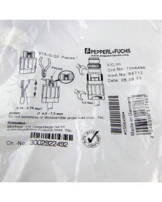 Pepperl + Fuchs Kabelstecker V1S-G-Q2 1556498 OVP
