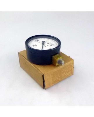WIKA Manometer, Druckanzeige 0-400 bar Ø 100mm OVP
