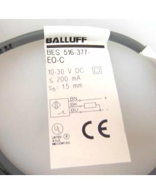 Balluff induktiver Näherungsschalter BES 516-377-EO-C-03 OVP