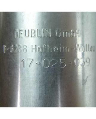 DEUBLIN Drehdurchführung 17-025-039 OVP