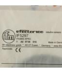 ifm efector induktiver Näherungsschalter IF5297 IFA3002-BPKG OVP