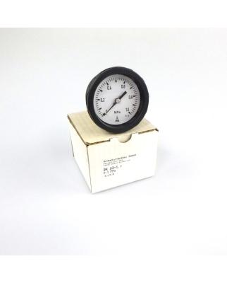 Armaturenbau Manometer RK 63-1 R 0-1 MPa OVP