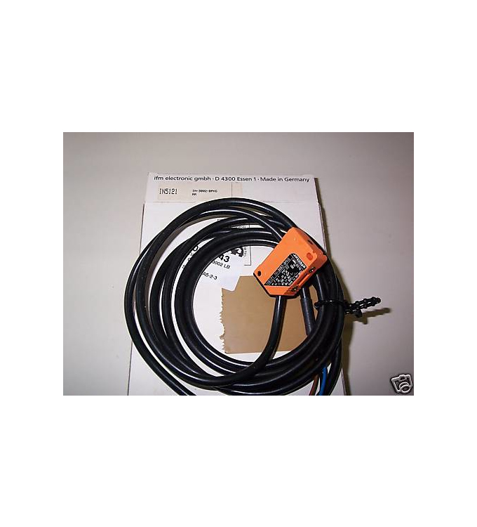ifm efector induktiver Näherungsschalter IN5121 IN-3002-BPKG OVP