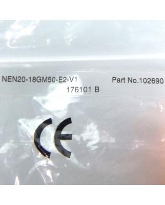 Pepper+Fuchs Induktiver Sensor NEN20-18GM50-E2-V1 102690 OVP