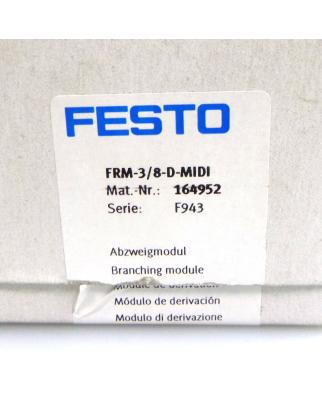 Festo Abzweigmodul FRM-3/8-D-MIDI 164952 OVP