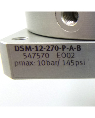 Festo Schwenkantrieb DSM-12-270-P-A-B 547570 NOV