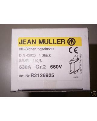 Jean Müller NH-Sicherungseinsatz R2126925 630A Gr.2...