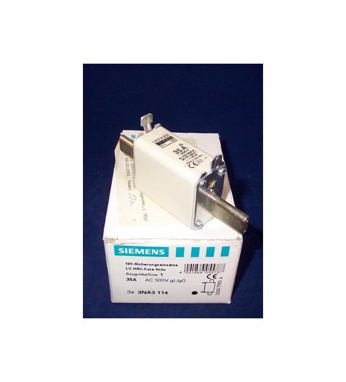 Siemens  NH-Sicherungseinsatz 3NA3114 (2Stk) OVP