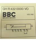 BBC Modul GH R 432 0000 VO GEB