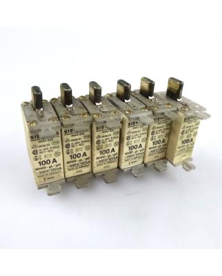 Siemens ISO-NH-Sicherungseinsatz 3NA5 830 100A (6Stk) GEB