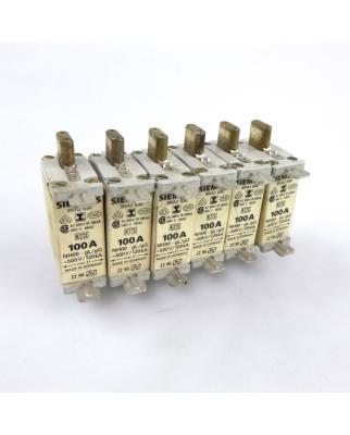 Siemens NH-Sicherungseinsatz 3NA2 830 100A (6Stk) GEB