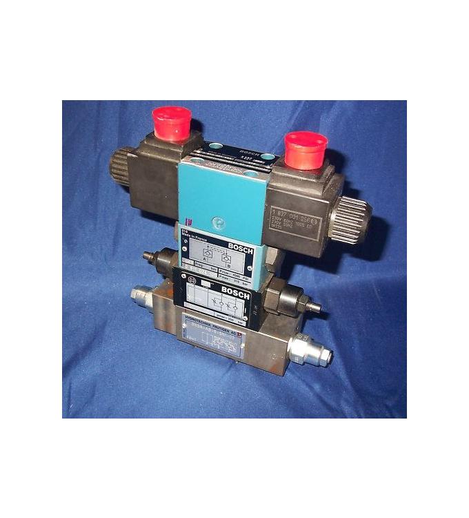 BOSCH Wegeventil/Hydraulikventil Kombination 0810091434 NOV