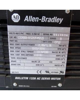 Allen Bradley AC-Servomotor 1326AB-B520F-M2LS Series B GEB