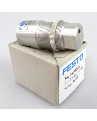 Festo Acoustic Indicator SA-243804A  AH-22-M5-HT-SA OVP