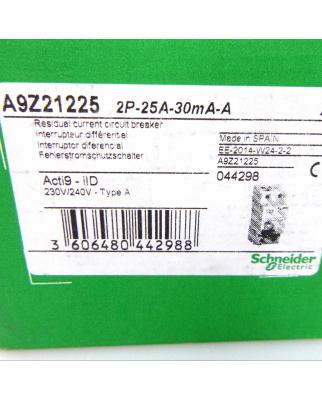 Schneider Electric Fehlerstromschutzschalter A9Z21225 iID...