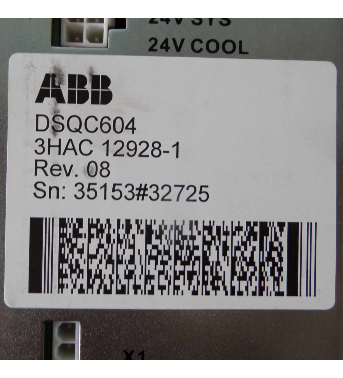 ABB / powerbox Power Supply DSQC604 3HAC12928-1 PBSE1027 Rev.08 GEB