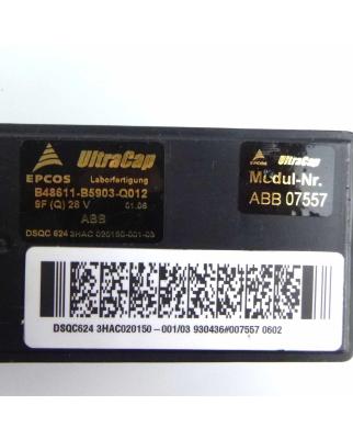 ABB / EPCOS Ultracap DSQC624 3HAC020150-001/03...