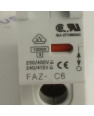 Klöckner Moeller Leitungsschutzschalter FAZ-C6 GEB